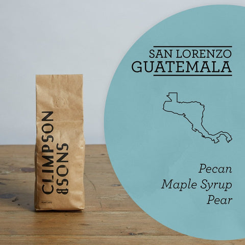 Climpson & Sons: Guatemala, San Lorenzo, Washed