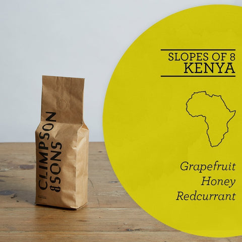 Climpson & Sons: Kenya, Slopes of 8, Washed