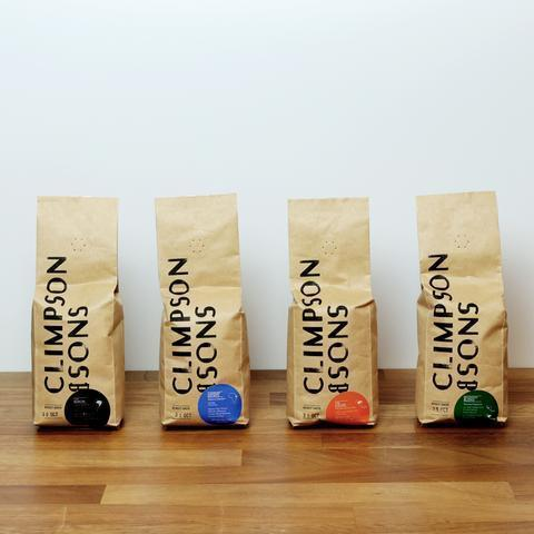 Climpson & Sons: Sampler Pack: Espresso And Blends