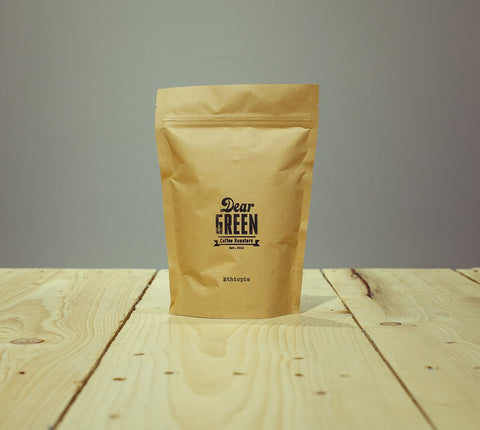 Dear Green Coffee - Ethiopia Yirgacheffe - Edido Natural