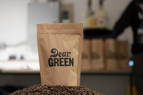 Dear Green Coffee: Colombia, Finca El Diviso, Extended fermentation
