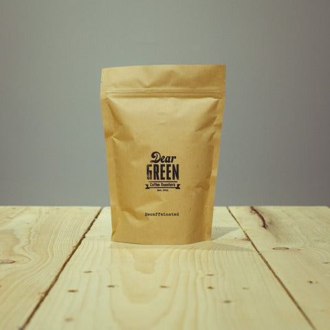 Dear Green Coffee: Colombia, La Plata, Huila, Decaffeinated