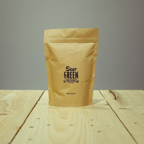 Dear Green Coffee: Ethiopia, Sidamo Chile, Washed