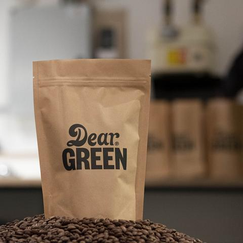 Dear Green Coffee: Sugar Cane EA - Hulia: Colombia, Decaffeinated