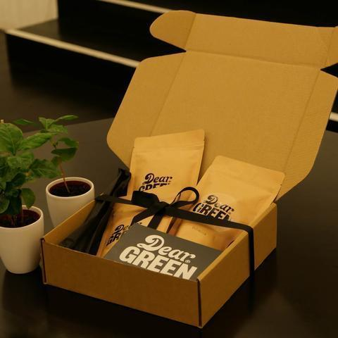 Dear Green Coffee: Triple Origin Gift Pack - 3 x 150g