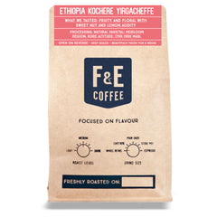 F & E Coffee: Ethiopia, Kochere Yirgacheffe, Natural