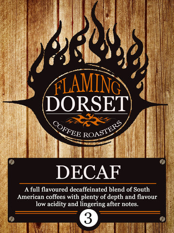 Flaming Dorset Coffee Roasters - Decaf Blend