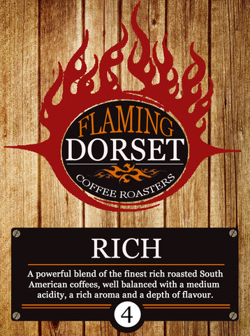 Flaming Dorset Coffee Roasters - Rich Blend
