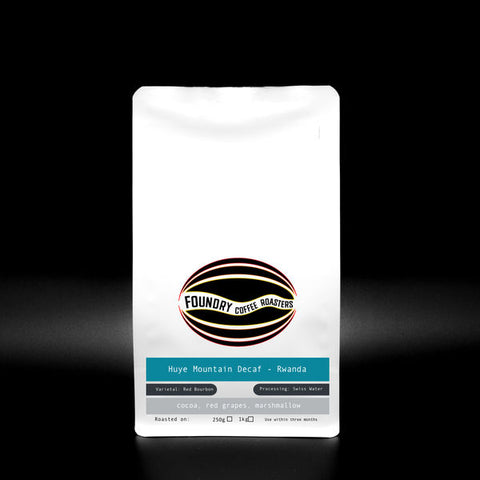 Foundry Coffee Roasters: Huye Mountain - Rwanda - Decaf