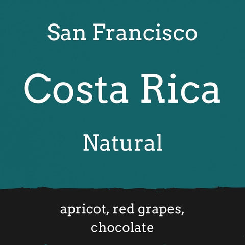 Foundry Coffee Roasters: Costa Rica, Finca San Francisco, Natural, Whole bean