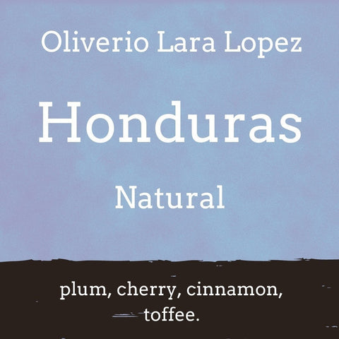 Foundry Coffee Roasters: Honduras, Oliverio Lara Lopez, Natural, Whole bean