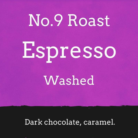 Foundry Coffee Roasters: No. 9 Espresso Roast: Colombia, Washed, Whole bean