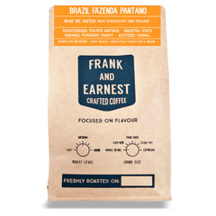 Frank and Earnest Coffee - Brazil - Fazenda Pantano - Natural