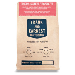 Frank and Earnest Coffee - Ethiopia - Kochere Yirgacheffe - Natural