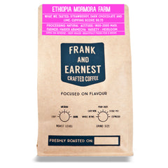 Frank and Earnest Coffee - Ethiopia - Mormora Farm - Natural Process