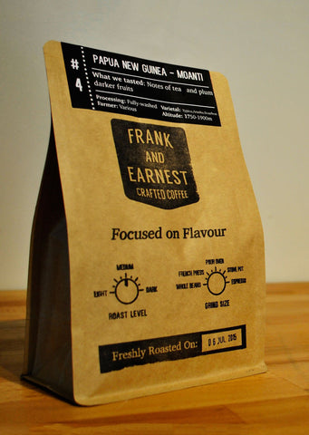 Frank and Earnest Coffee - Papua New Guinea - Moanti