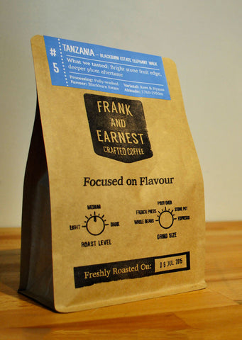 Frank and Earnest Coffee - Tanzania - Blackburn Estate Elephant Walk