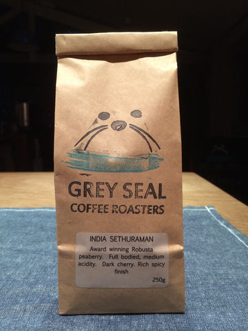 Grey Seal Coffee - India Sethuraman Robusta