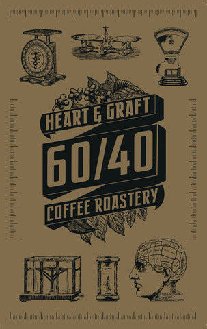 Heart & Graft Coffee Roastery: 60/40: Espresso Blend