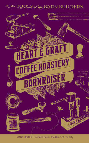 Heart & Graft Coffee Roastery: Barnraiser: Espresso Blend