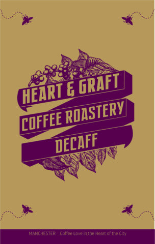 Heart & Graft Coffee Roastery: Decaff: Co2, Decaffeinated