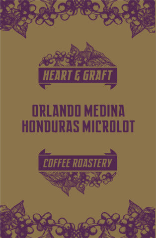 Heart & Graft Coffee Roastery: Orlando Medina: Honduras, Finca Los Pinos, Washed