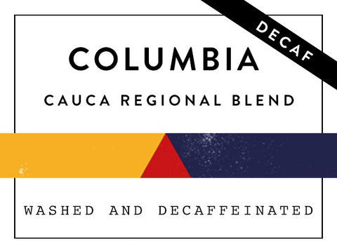Horsham Coffee Roaster - Colombia Cauca Regional Blend - Decaf