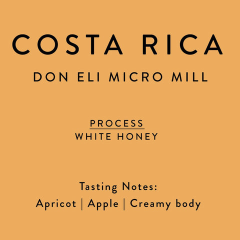Horsham Coffee Roaster - Costa Rica - Don Eli - White Honey
