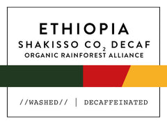 Horsham Coffee Roaster - Ethiopia Shakisso Co2 Decaf