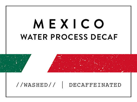 Horsham Coffee Roaster - Mexico Mountain Water Decaf