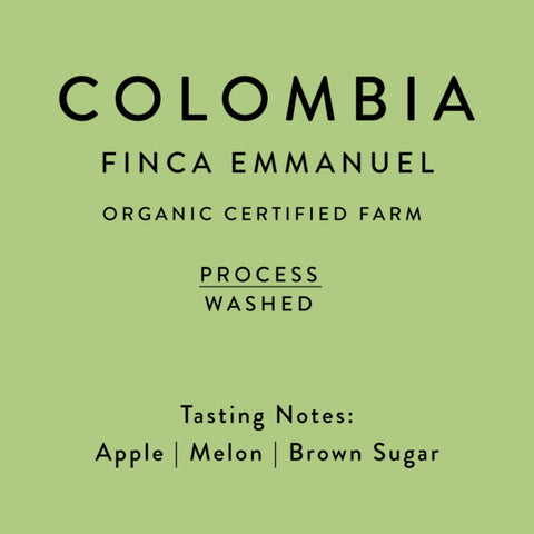 Horsham Coffee: Colombia, Finca Emmanuel, Washed