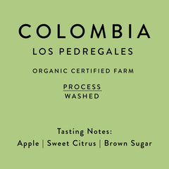 Horsham Coffee: Colombia, Los Pedregales, Washed