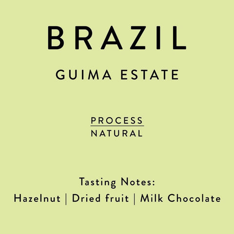 Horsham Coffee Roaster: Brazil, Guima Estate, Natural