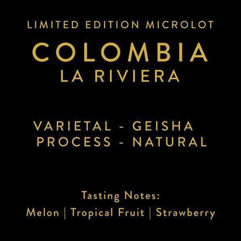 Horsham Coffee Roaster: Colombia, La Riviera - Microlot, Natural