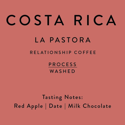 Horsham Coffee Roaster: Costa Rica, La Pastora - Direct Trade, Extended fermentation