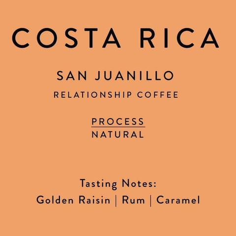 Horsham Coffee Roaster: Costa Rica, San Juanillo, Natural