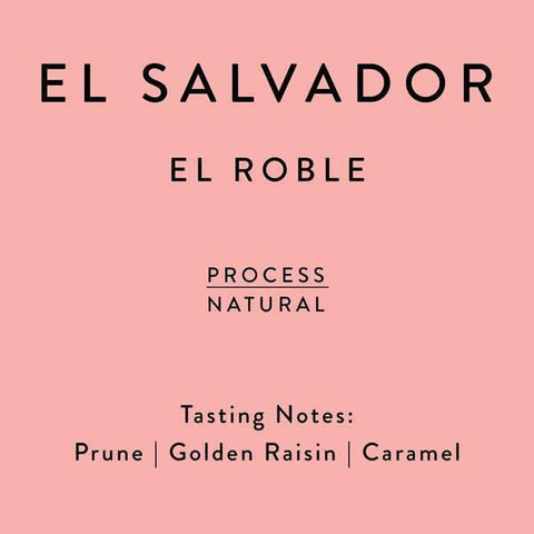 Horsham Coffee Roaster: El Salvador, Los Nogales - El Roble, Natural