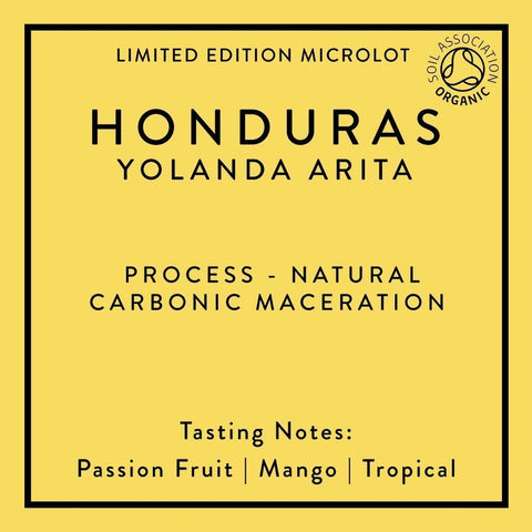 Horsham Coffee Roaster: Honduras, Yolanda Arita, Carbonic Macerated Natural