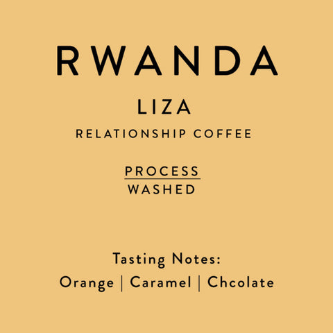 Horsham Coffee Roaster: Rwanda, Liza Washing Station, 2018 2019 Crop, Washed