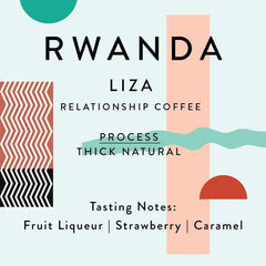 Horsham Coffee Roaster: Rwanda, Liza Washing Station, Thick Layer, Natural