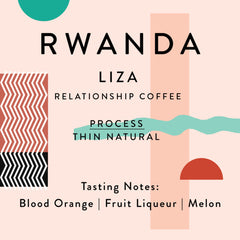 Horsham Coffee Roaster: Rwanda, Liza Washing Station, Thin, Natural