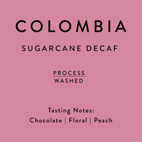 Horsham Coffee Roaster: Sugarcane Decaf: Colombia, Washed