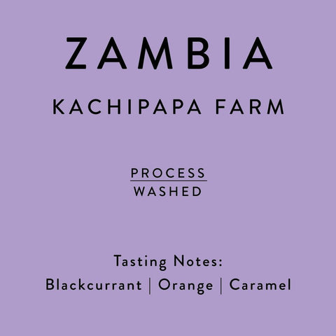 Horsham Coffee Roaster: Zambia, Kachipapa Farm, Washed