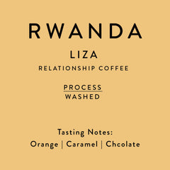 Horsham Coffee: Rwanda, Liza Washing Station, Washed