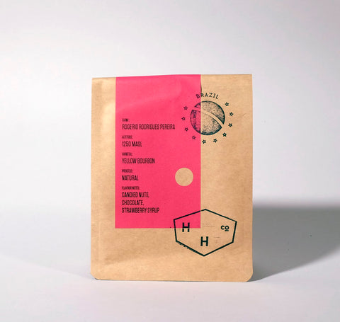 Hundred House Coffee: Brazil - Rogerio Rodrigues Pereira - Natural