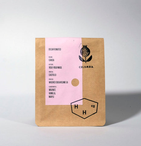 Hundred House Coffee - Decaf - Colombia - Pitalito - Sugarcane EA