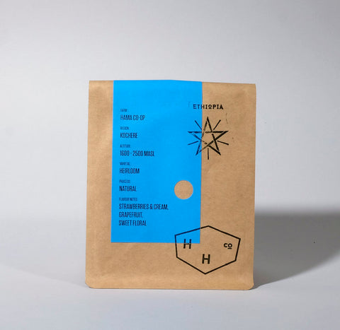 Hundred House Coffee - Ethiopia - Hama Co-Op - Natural