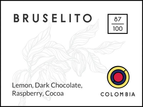 Long and Short Coffee: Bruselito - Colombia - Washed