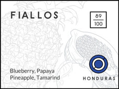 Long & Short Coffee: Honduras, Fiallos, Natural
