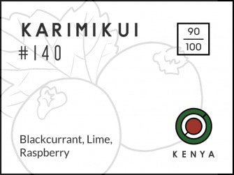 Long & Short Coffee: Kenya, Karimikui, Washed